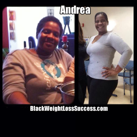 Andrea's weight loss story