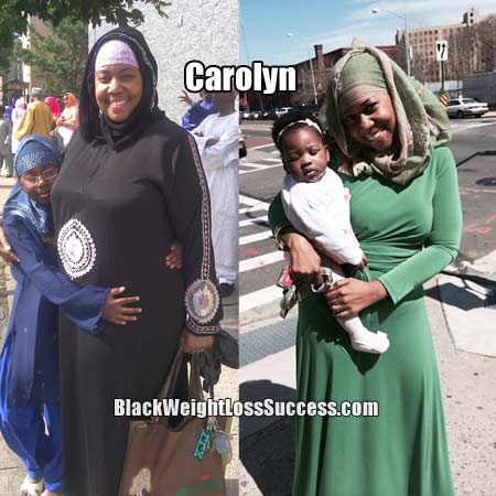 Carolyn before and after photos