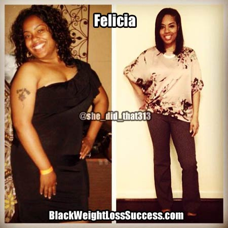 Felicia weight loss story