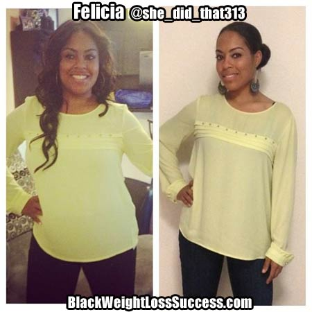 Felicia Weight Loss