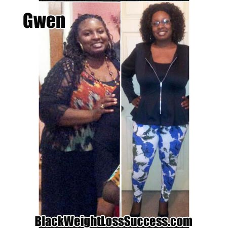 Gwen's weight loss story