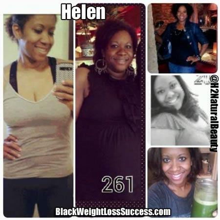 Helen before and after