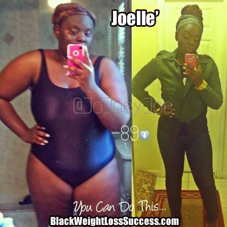Joelle weight loss story