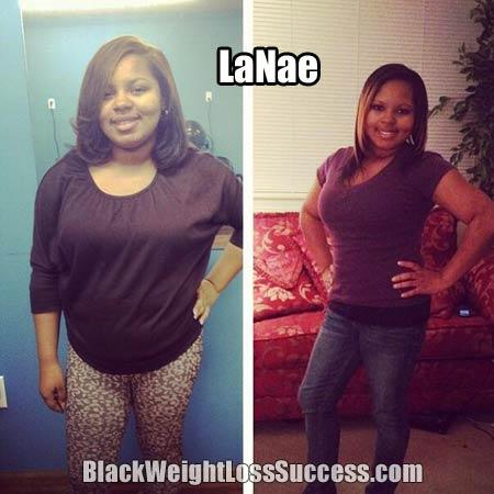 LaNae weight loss story