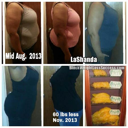 LaShanda weight loss