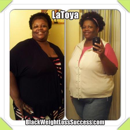 LaToya's weight loss story