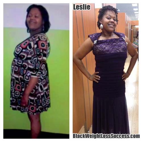 Leslie weight loss success story
