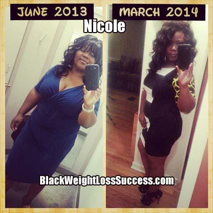 Nicole weight loss