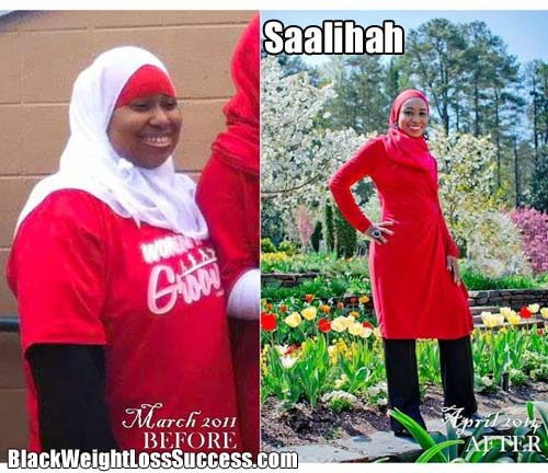 Saalihah weight loss story