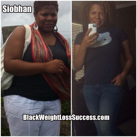 Siobhan weight loss story
