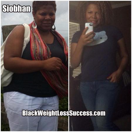 Siobhan weight loss story
