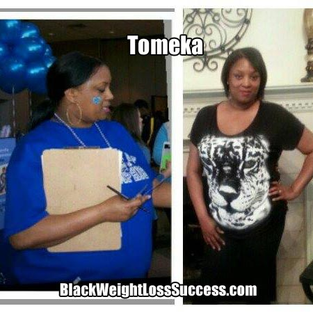 Tomeka weight loss