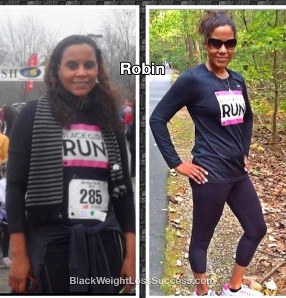 robin weight loss