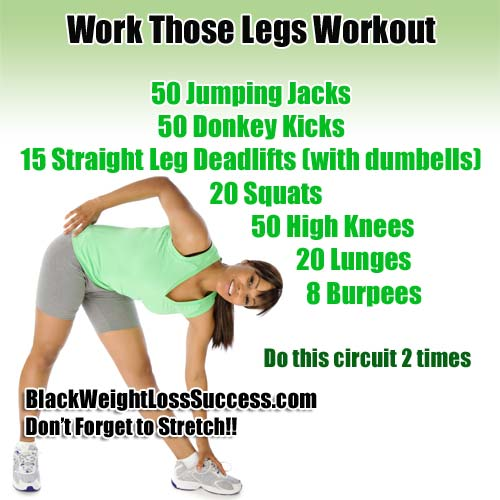 work those legs workout