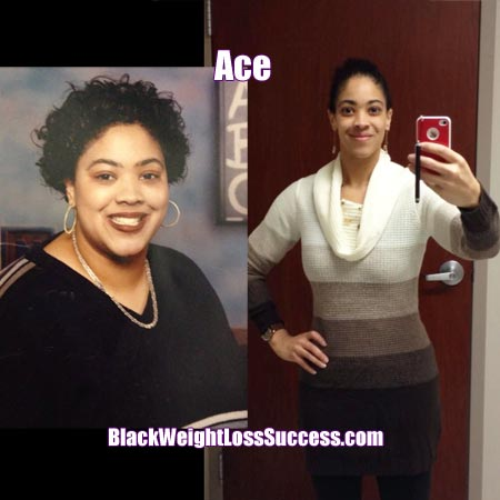 Ace weight loss story