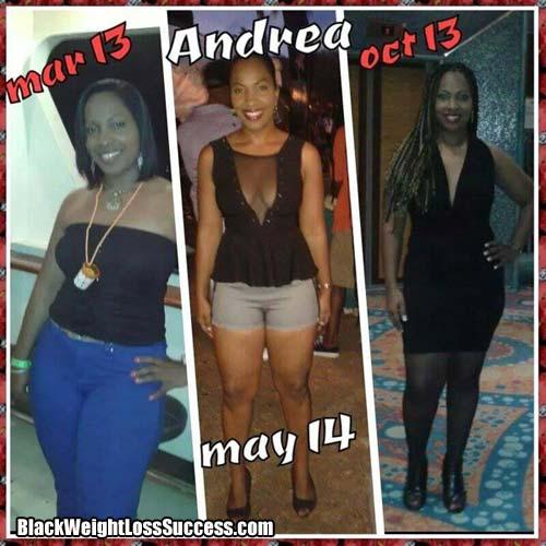 Andrea weight loss