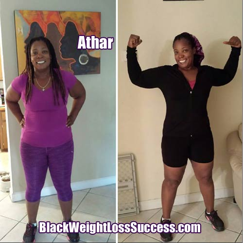 Athar weight loss update