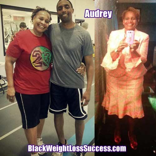 Audrey weight loss