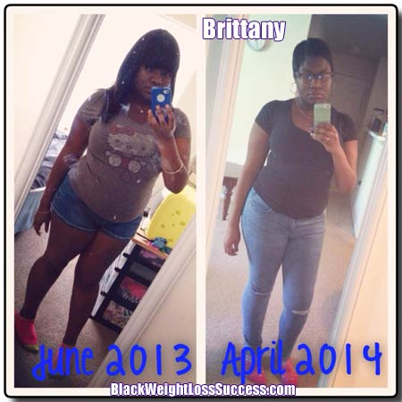 Brittany before and after