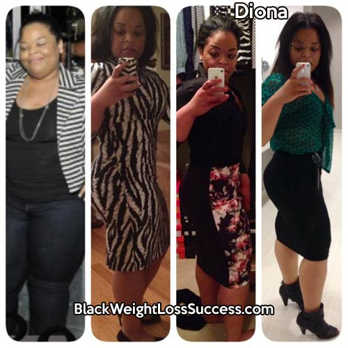 Diona weight loss story