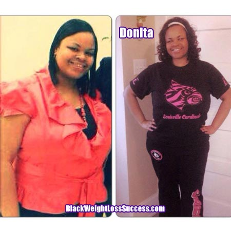 Donita weight loss story