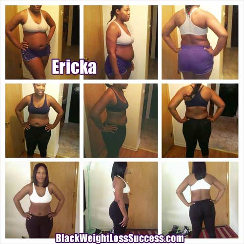 Ericka before and after