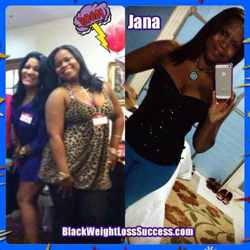 Jana before and after