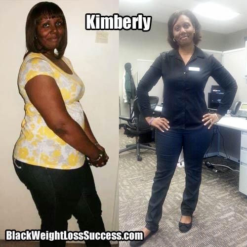 Kimberly weight loss story