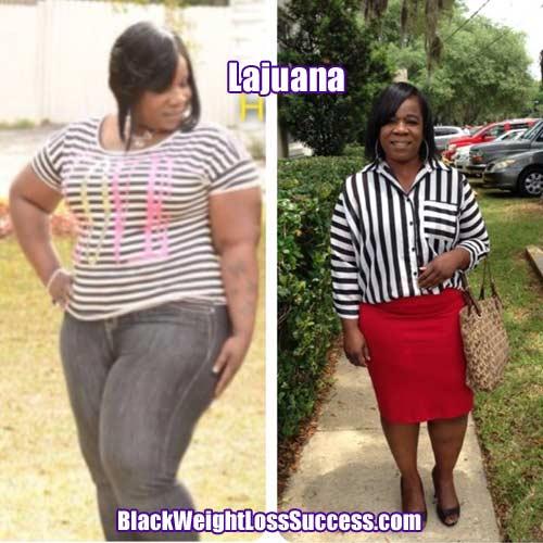 Lajuana weight loss story