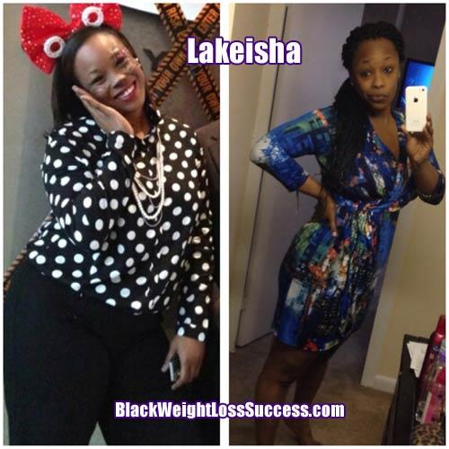 Lakiesha weight loss story