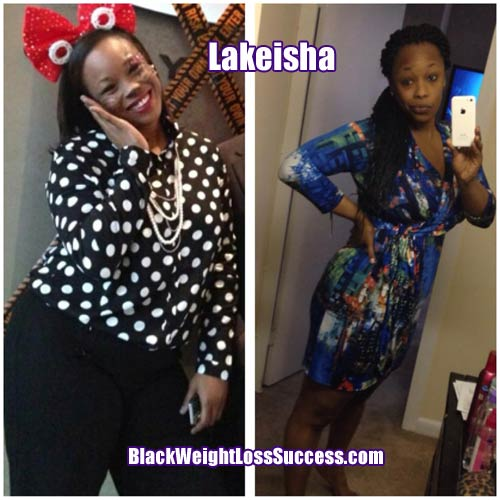 Lakiesha weight loss story