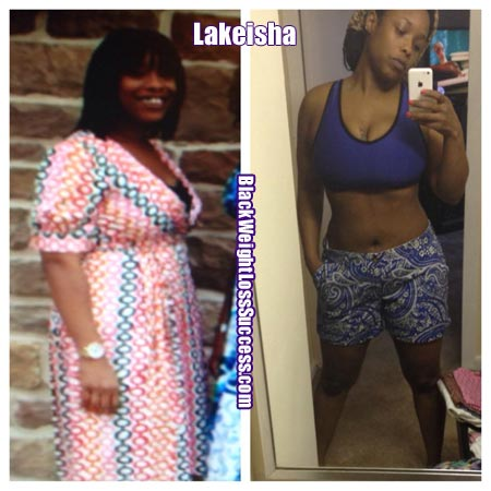 Lakiesha before and after photos