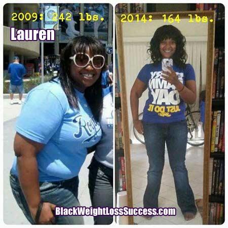 Lauren weight loss story