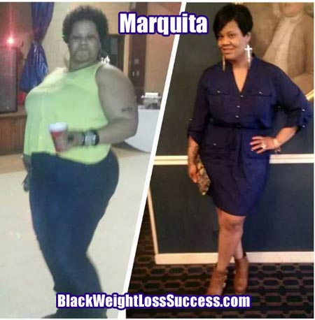 Marquita before and after