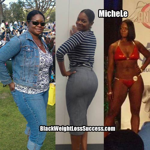 Michele weight loss success