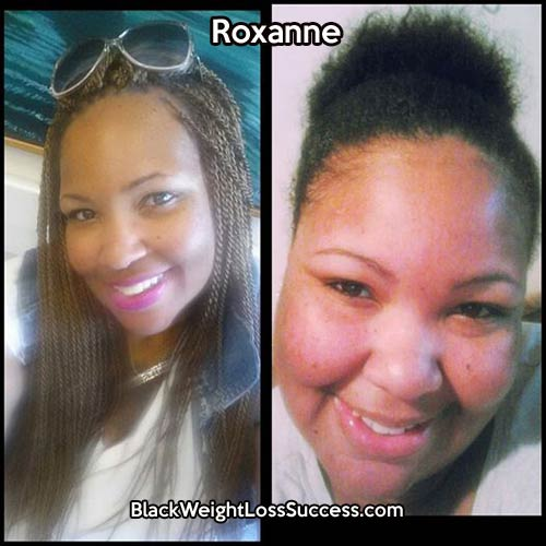 Roxanne before and after
