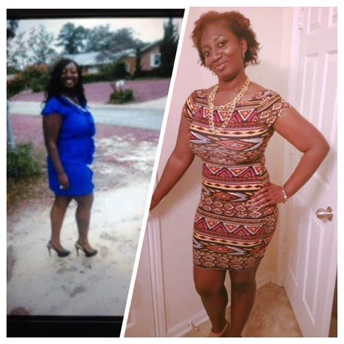 Samantha weight loss story