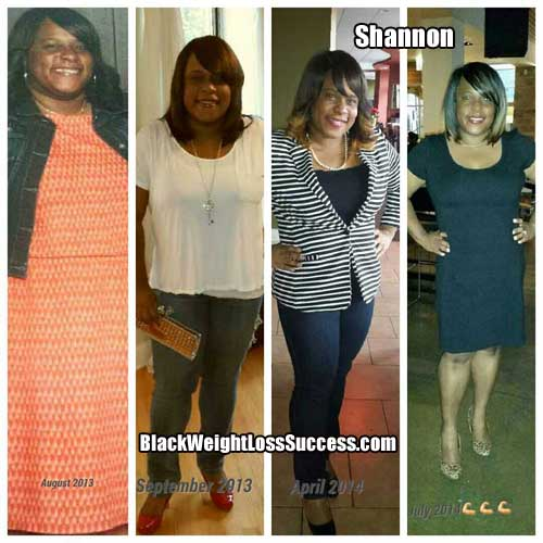 Shannon weight loss