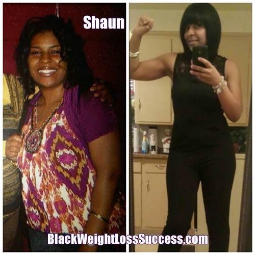 Shaun lost 35 pounds