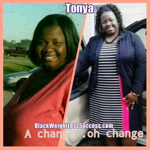 Tonya before and after