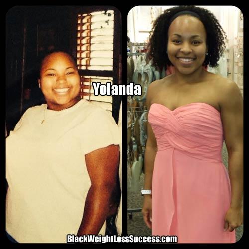 Yolanda weight loss