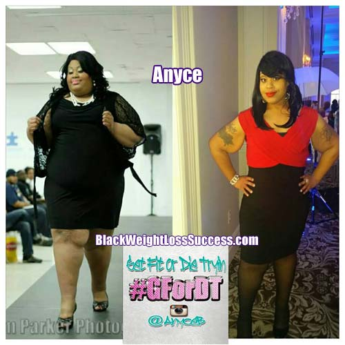 anyce lost 176 pounds