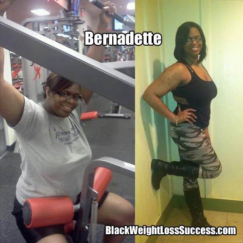 Bernadette weight loss story
