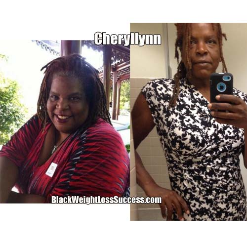 Cheryllynn before and after