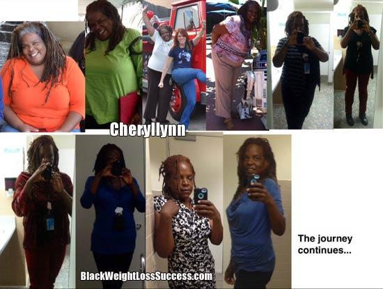 Cheryllynn weight loss photos