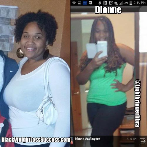 Dionne weight loss story