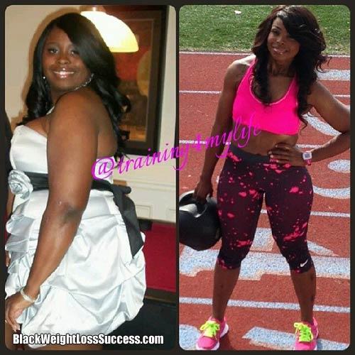 Donesha weight loss