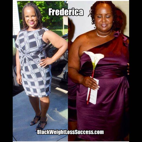 Frederica weight loss