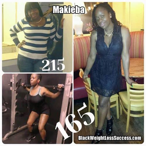 Makieba weight loss
