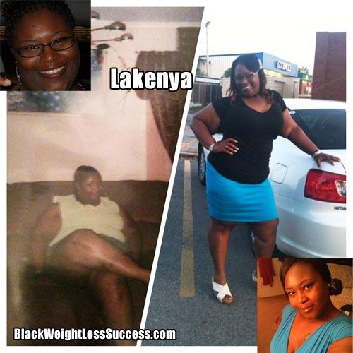 Lakenya's weight loss story